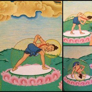 tibetaanse yoga foto